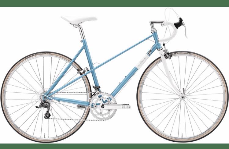 Beginner lady touring bicycle Creme