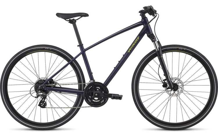woman girl hybrid mountain bike specializecd