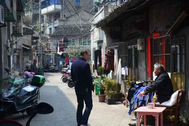 Villaggio di pescatori a Putuo, Zhoushan