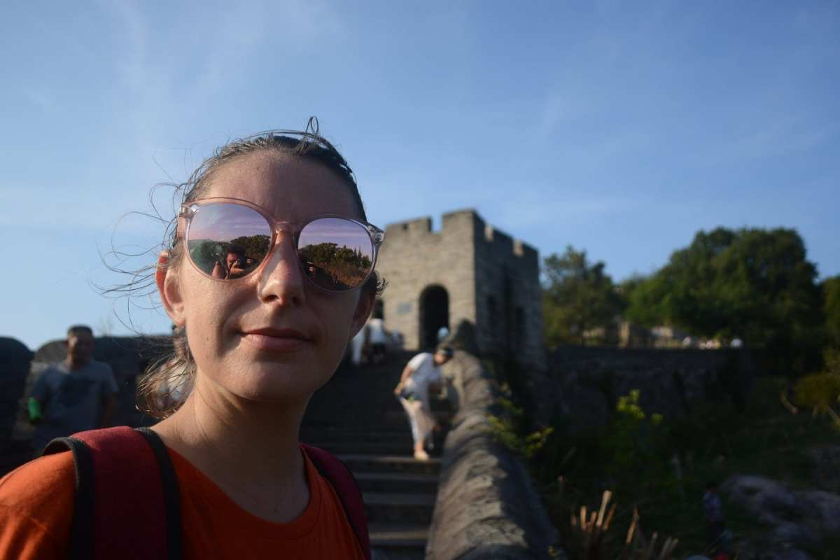 China Great Wall Zhejiang no tourist