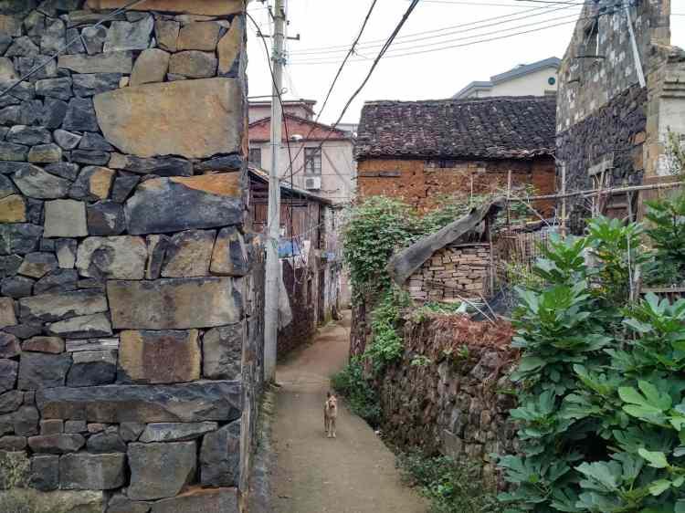 cina villaggio tradizionale
