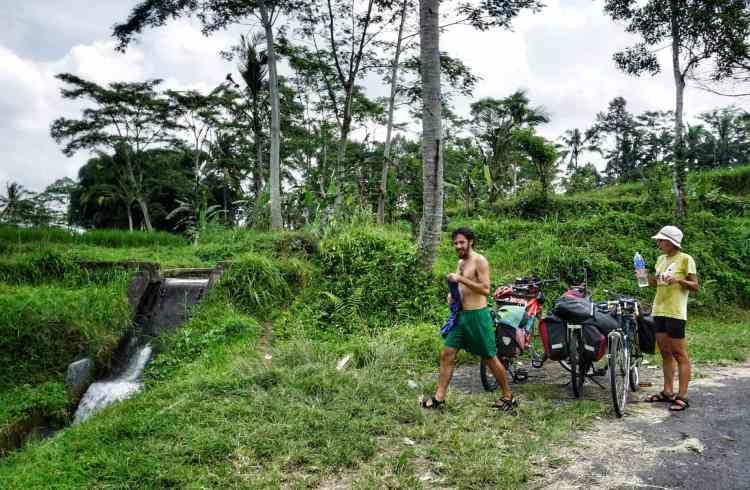 bali bike trip