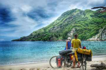 Bicycle Touring Flores Indonesia