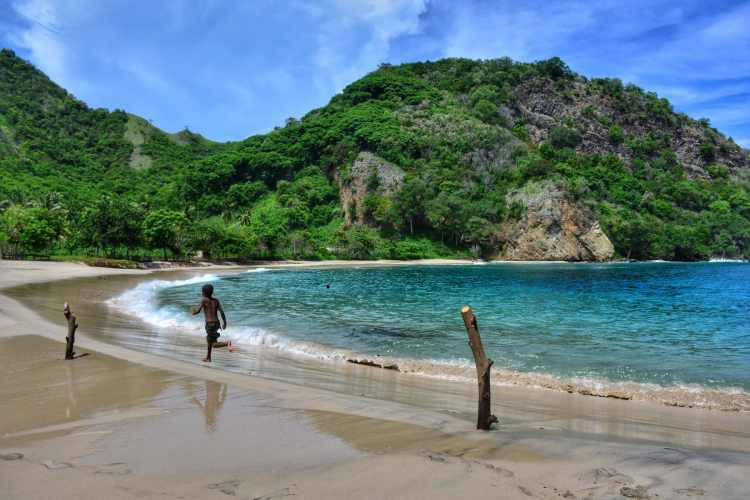 Best Beach Southeast Asia Flores unspoiled