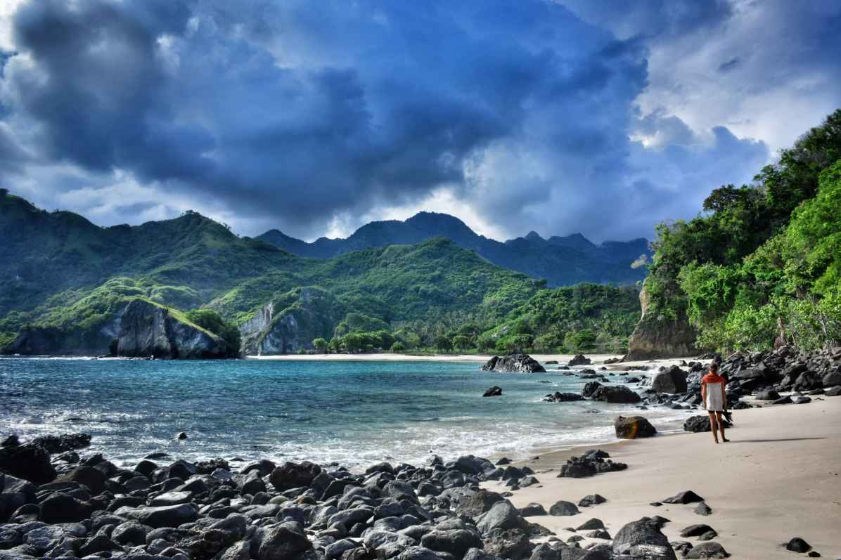 best beach indonesia