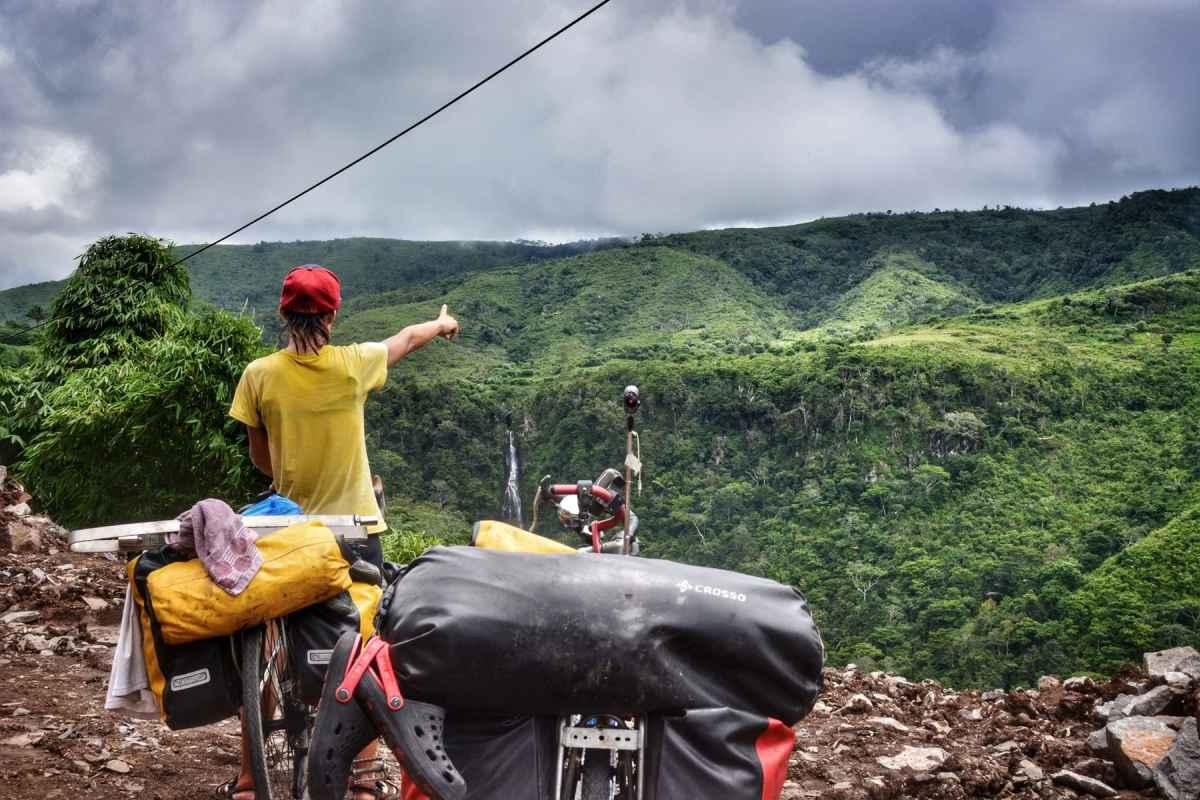 pedalare a Flores itinerario