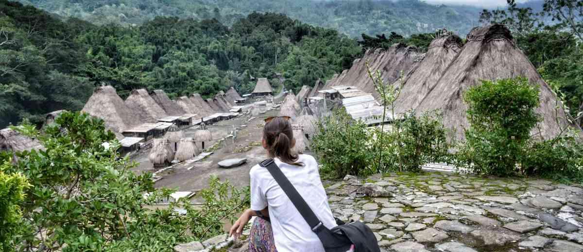 Bena Gurusina Other Ngada Villages A Bajawa Cultural