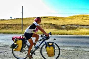 how to start bicycle touring