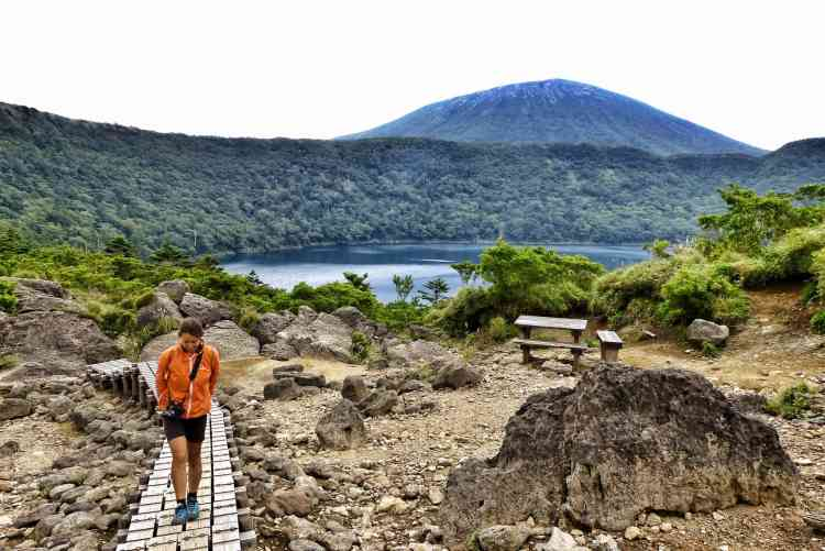 best places visit japan volcano