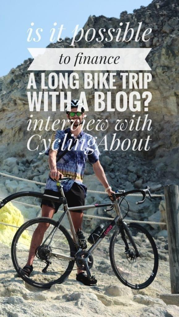 finance bicycle trip