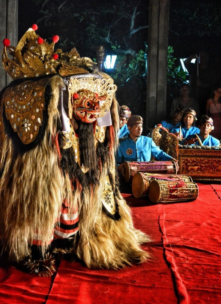 where traditional theater bali Barong