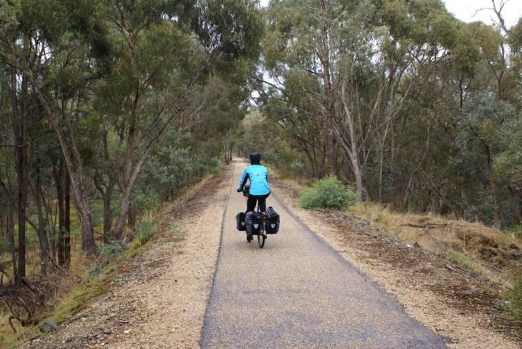 australia beginner bike travel