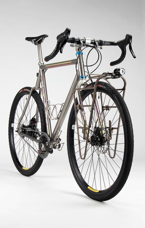 titanium touring bikes firefly