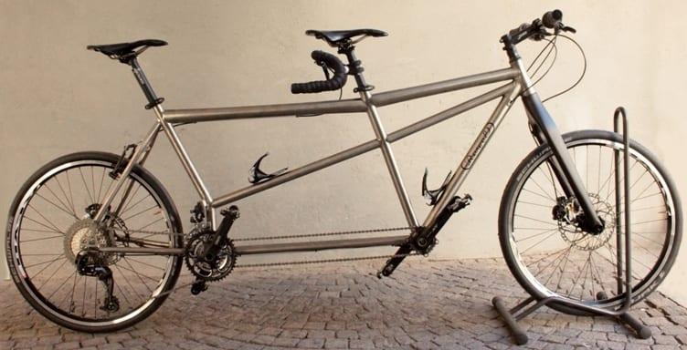titanium tandem bike rewel