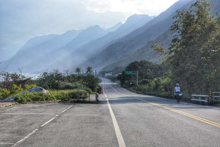 cycling Taiwan