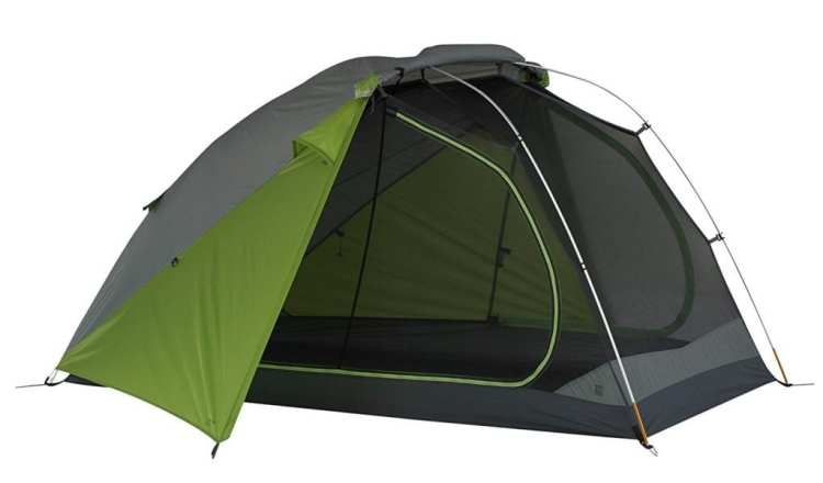 Kelty T2 bike touring tent