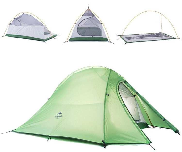 best bike touring tent Naturehike Cloud-Up 4 Season