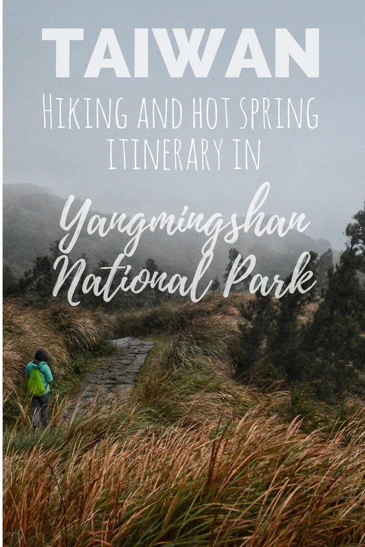 Yangmingshan Hot spring hiking itinerary