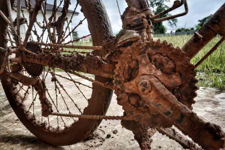 cycling Laos