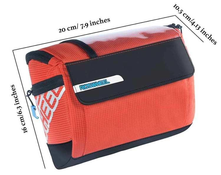 best handlebar bag Roswheel LOHAS Series 3L