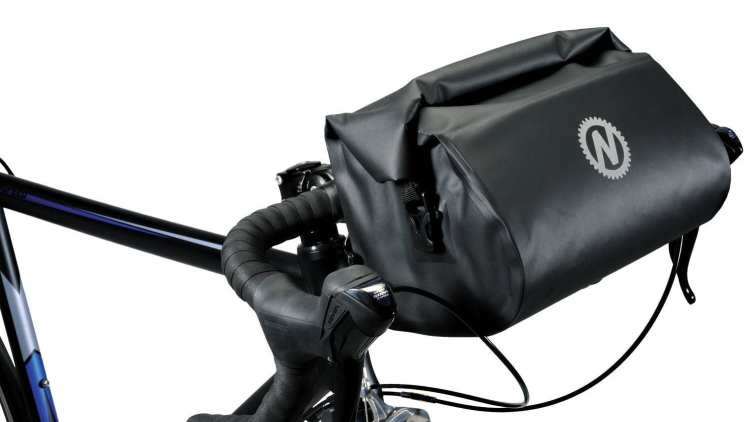 bike touring waterproof handlebar bag Nashbar Waterproof