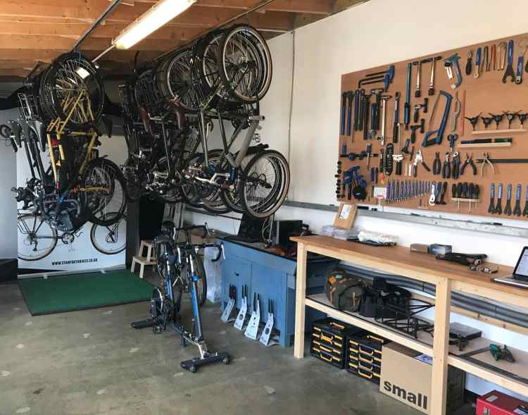 bike workshop stanforth