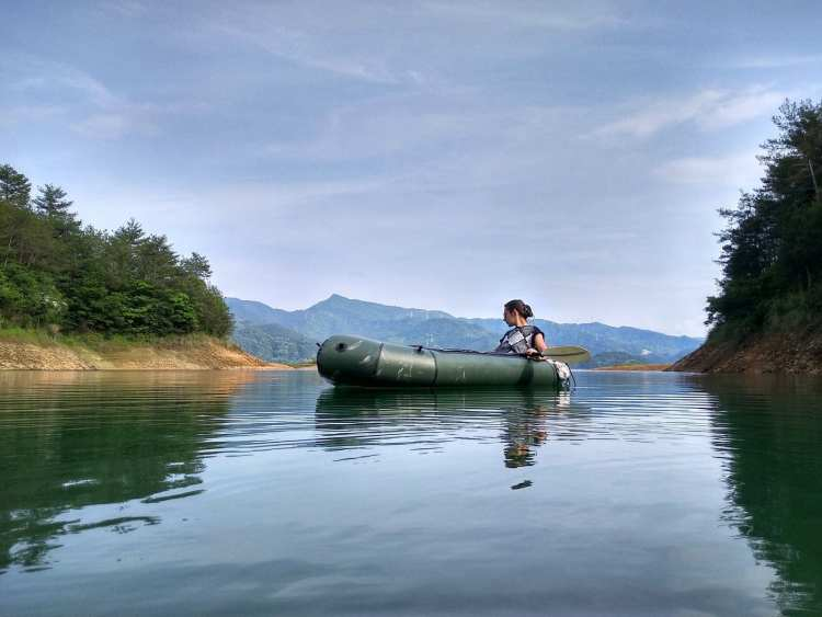 Thousand Islands lake Kayaking Hangzhou