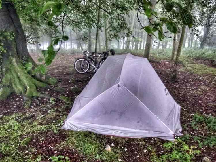 south downs way camping