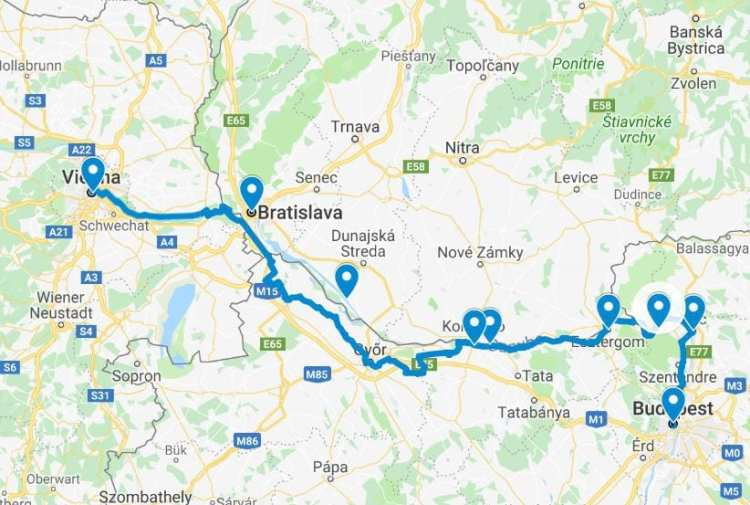 Danube Cycling Path - The Ultimate Guide to bike the Danubiana on