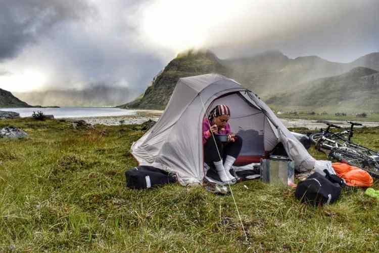 campeggio isole lofoten