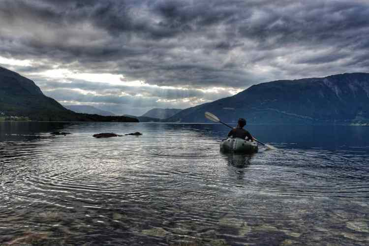packrafting Norway