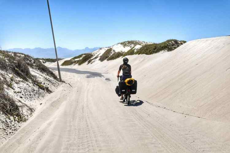 bicycle tour western cape