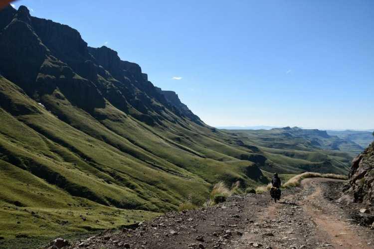 Drakensberg in bicicletta