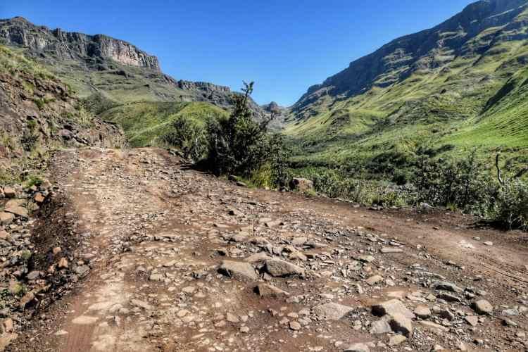 Sani Pass condizioni stradali