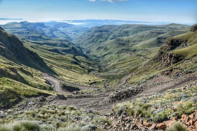 Lesotho border crossing