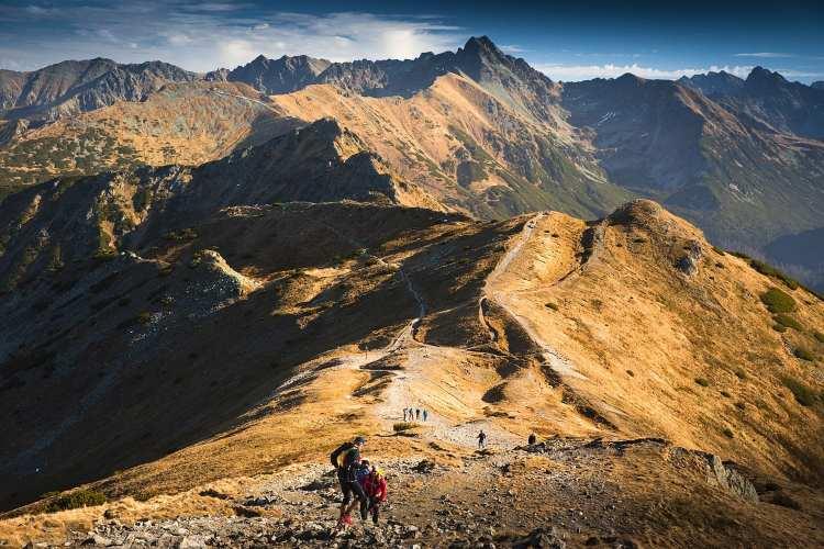 Hiking High Tatra mountains National Park