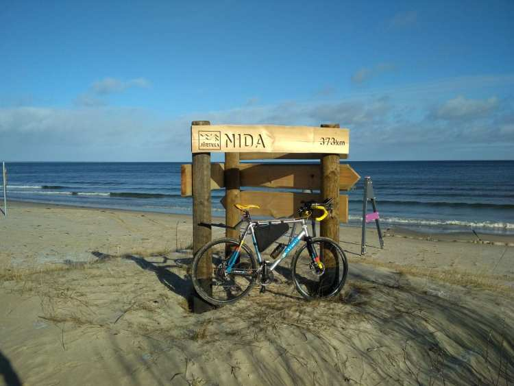 cycling latvia coast