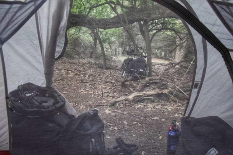 bike camping campsites south africa