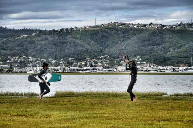 kitesurfing courses lessons garden route
