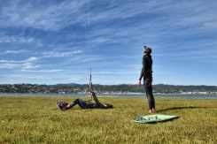 kiteboarding knysna garden route