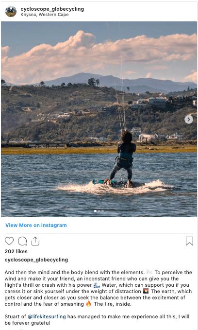 kitesurfing instagram
