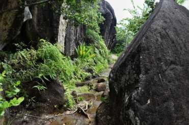 hiking Anse Major
