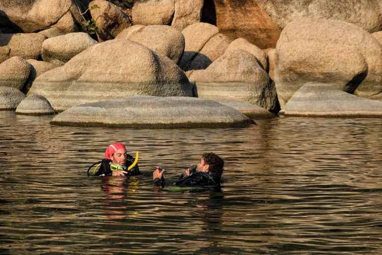diving lake malawi