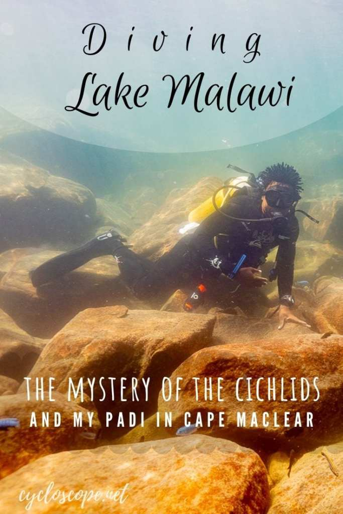 diving Lake Malawi 2