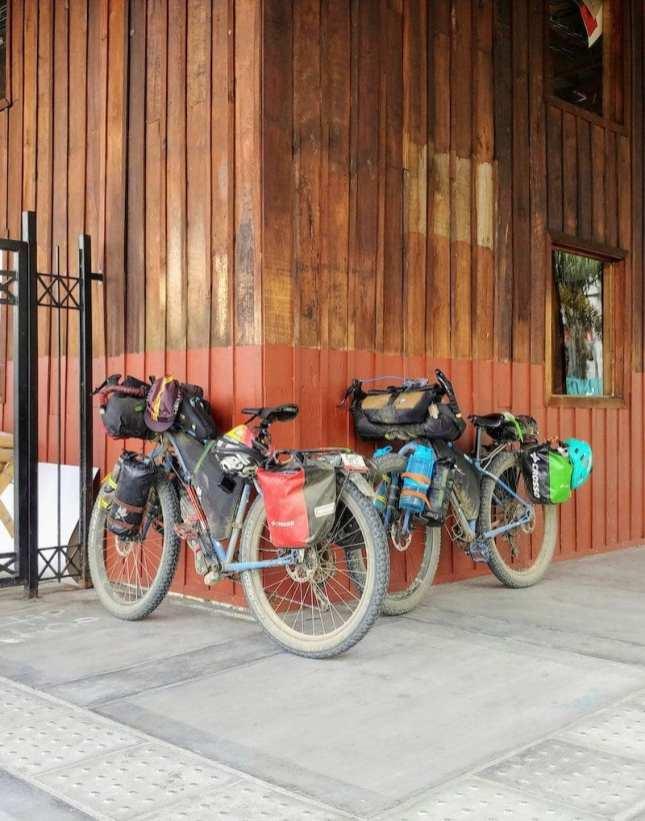 Cinelli bikepacking Bike