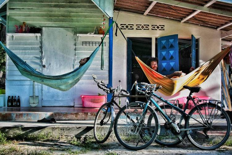 bike tour equipment