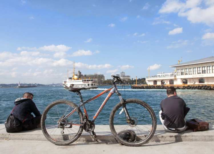 cycling Istanbul