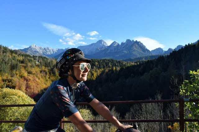 cycling the alps in europe