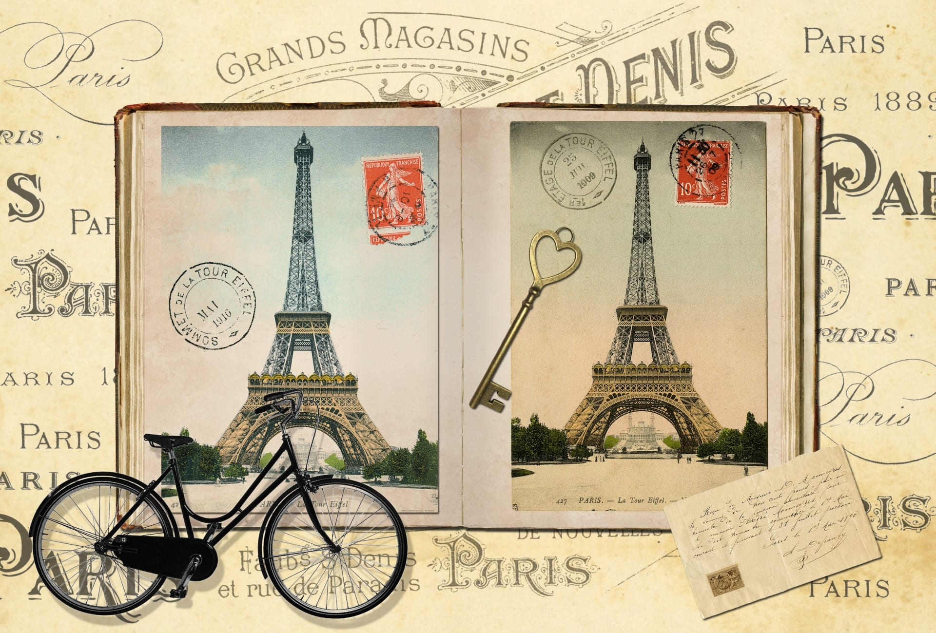 Sightseeing Cycling Route in Paris 9