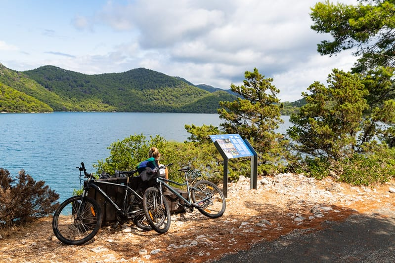 cycling routes in croatia